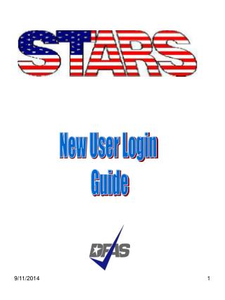 New User Login  Guide