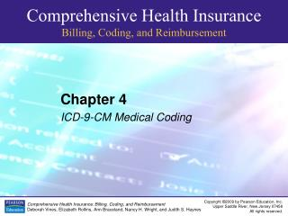 Chapter 4 ICD-9-CM Medical Coding