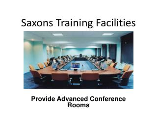 Advanced Conference Rooms