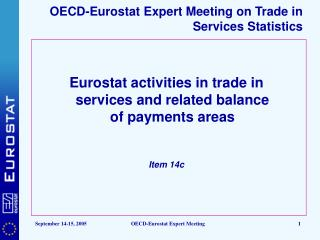 OECD-Eurostat Expert Meeting on Trade in Services Statistics