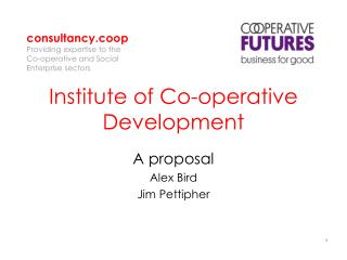 Institute of Co-operative Development