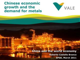 Chinese economic growth and the demand for metals