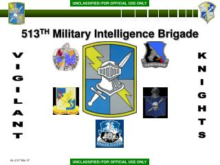 513 TH  Military Intelligence Brigade