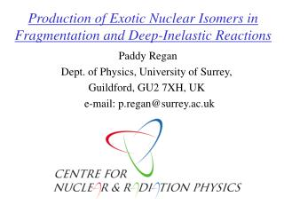 Production of Exotic Nuclear Isomers in Fragmentation and Deep-Inelastic Reactions