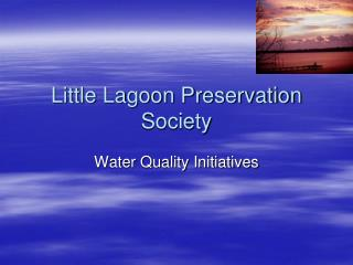 Little Lagoon Preservation Society