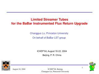 Limited Streamer Tubes for the BaBar Instrumented Flux Return Upgrade