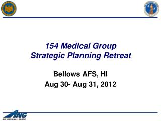 154 Medical Group Strategic Planning Retreat