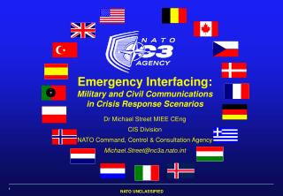Emergency Interfacing: Military and Civil Communications in Crisis Response Scenarios