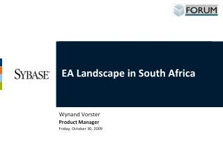 EA Landscape in South Africa
