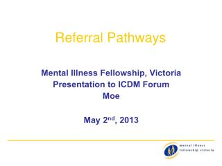 Referral Pathways