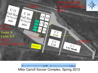 Mike Carroll Soccer Complex, Spring 2013