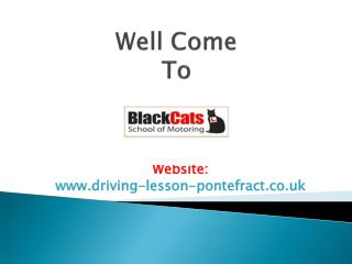 Black Cats School of Motoring- Learn to Drive Pontefract