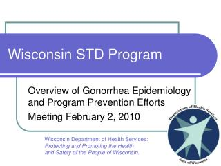 Wisconsin STD Program