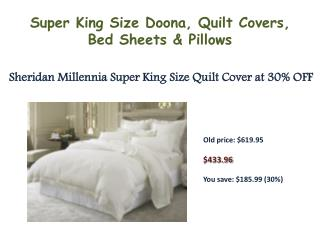 Sheridan Declan Super King Quilt Cover