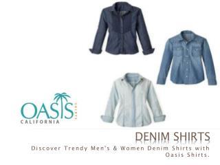 Find Here The Best Full Sleeved Formal Denim Shirt
