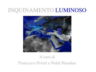 INQUINAMENTO LUMINOSO