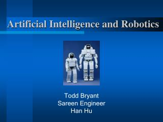 Artificial Intelligence and Robotics