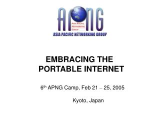 EMBRACING THE  	    PORTABLE INTERNET