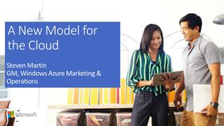 A New Model for the Cloud