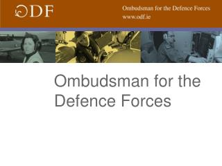 Ombudsman for the Defence Forces
