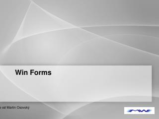 Win Forms