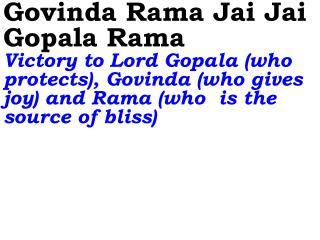 0459_Ver06L_Govinda Rama Jai Jai Gopala Rama