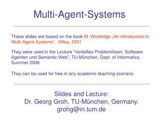 Multi-Agent-Systems