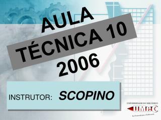 AULA TÉCNICA 10 2006