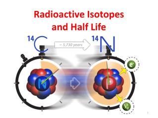Radioactive Isotopes  and Half Life