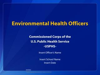 Environmental Health Officers