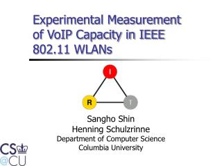 Experimental Measurement of VoIP Capacity in IEEE 802.11 WLANs