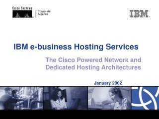 IBM e-business Hosting Services