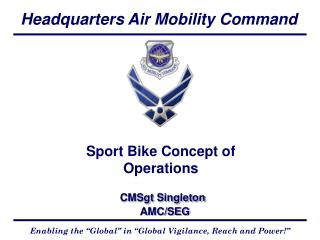 Sport Bike Concept of Operations