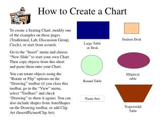 How to Create a Chart