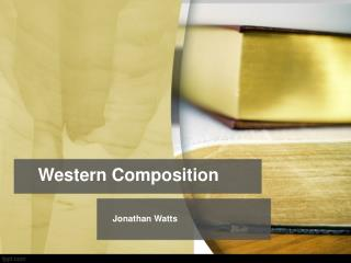 Western  Composition