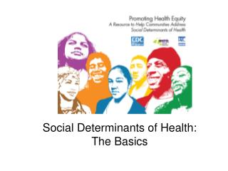 Social Determinants of Health:  The Basics