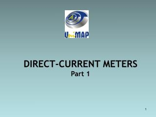DIRECT-CURRENT METERS Part 1