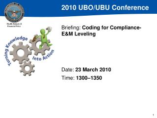Briefing:  Coding for Compliance-E&M Leveling