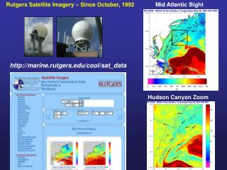Rutgers Satellite Imagery – Since October, 1992
