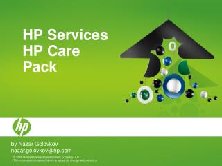 HP Services HP Care Pack