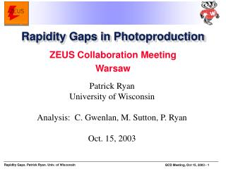 Rapidity Gaps in Photoproduction