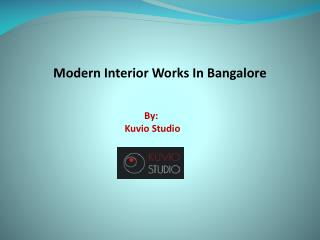 Office Interiors in Bangalore- Kuvio Studio