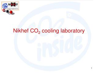 Nikhef CO 2  cooling laboratory