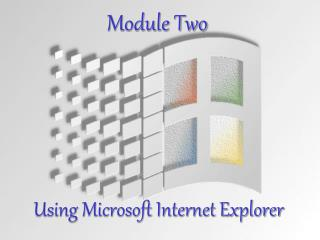 Using Microsoft Internet Explorer