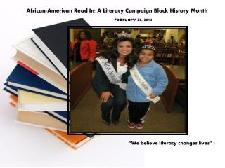 African-American Read In: A Literacy Campaign Black History Month