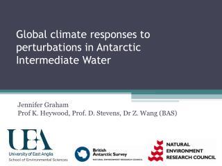 Global climate responses to perturbations in Antarctic Intermediate Water