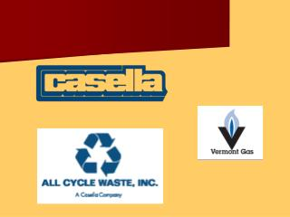 Casella's First CNG Collection Vehicle