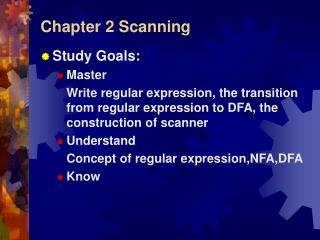 Chapter 2 Scanning