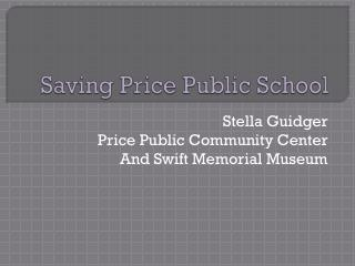 Saving Price Public School