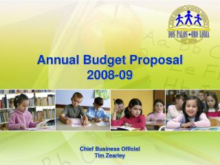 Annual Budget Proposal 2008-09